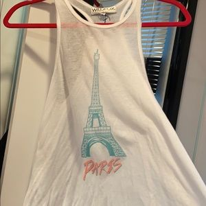 Super soft wildfox Paris tank